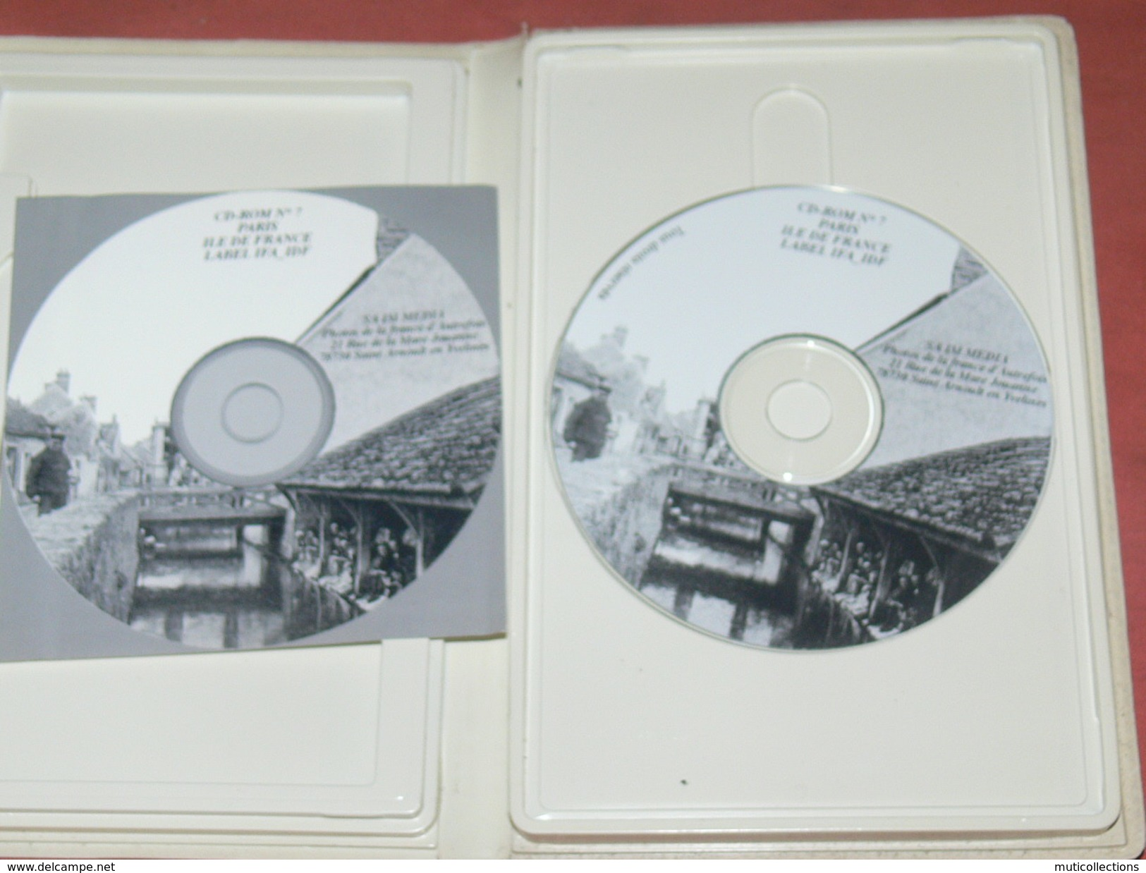 CD ROM REPRODUCTION CPA /10.000 CLICHES ANCIENS VILLAGES ILE DE FRANCE /  BARBIZON /  SENLIS / GIVERNY / PROVINS / MILLY - Musik-DVD's