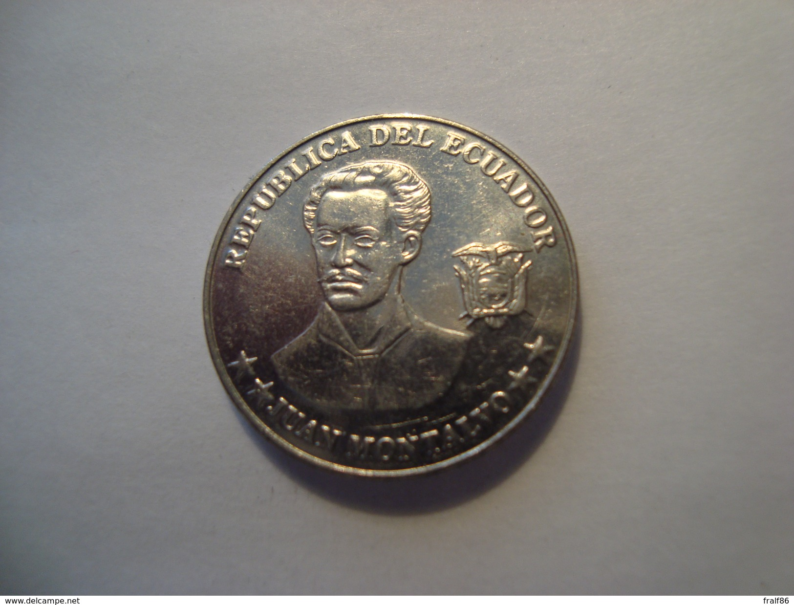 MONNAIE EQUATEUR 5 CENTAVOS 2000 - Ecuador