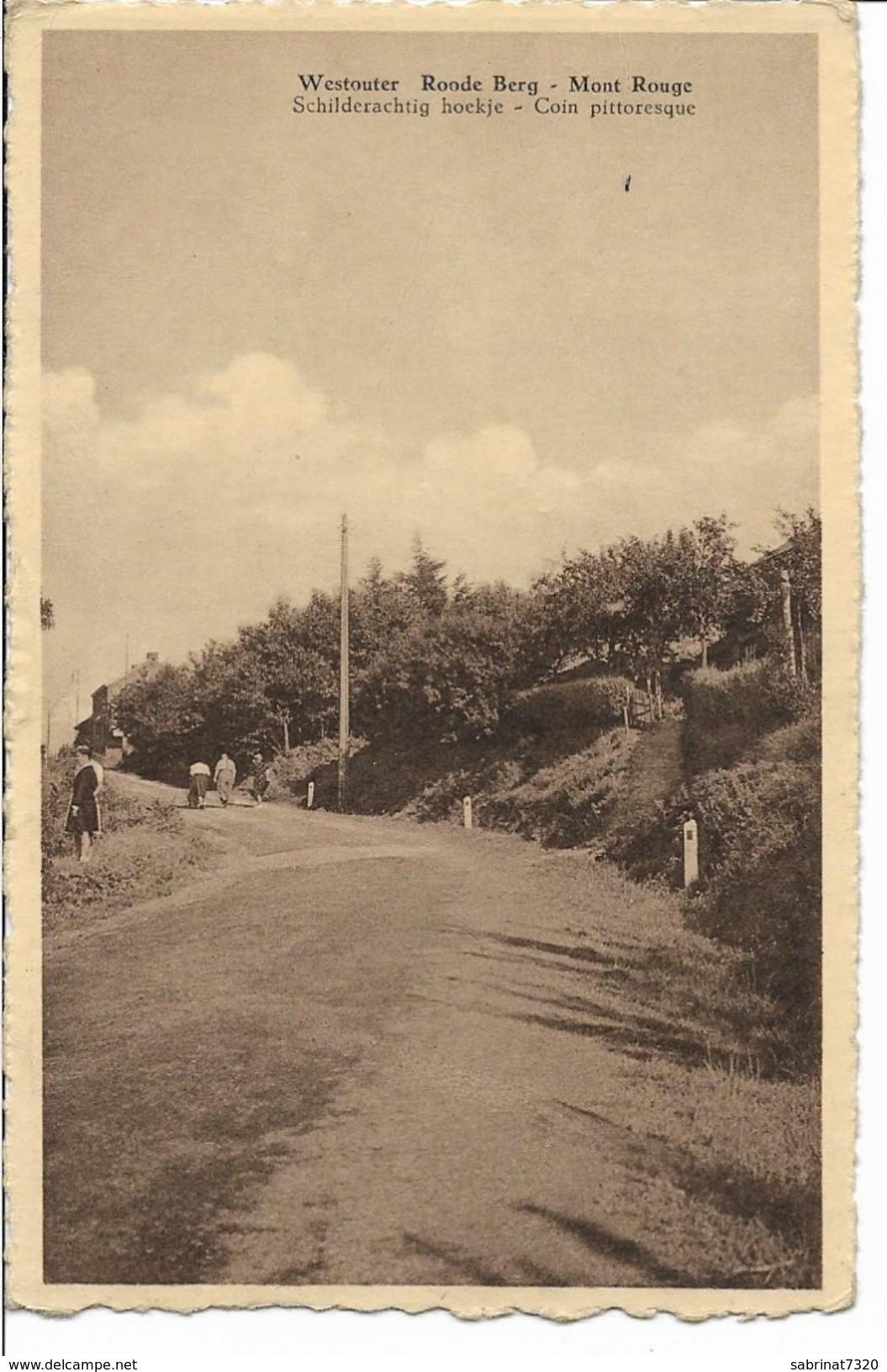 Westouter Roode Berg Mont Rouge Schilderachtig Hoekje Coin Pittoresque - Heuvelland