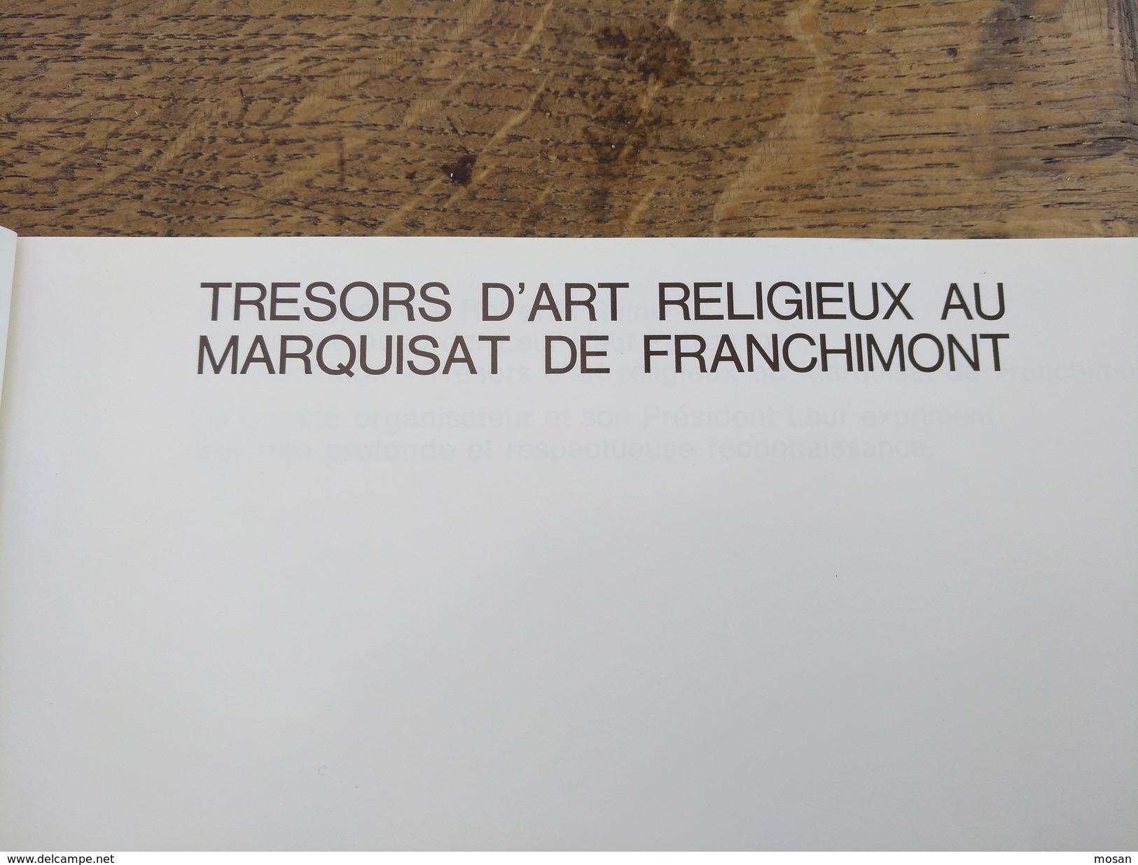 Trésors D'art Dans L'ancien Doyenné De Havelange. Flostoy 1970. Barreaux, Flostoy, Jallet, Méan, Miecret, Verlée... - Belgique