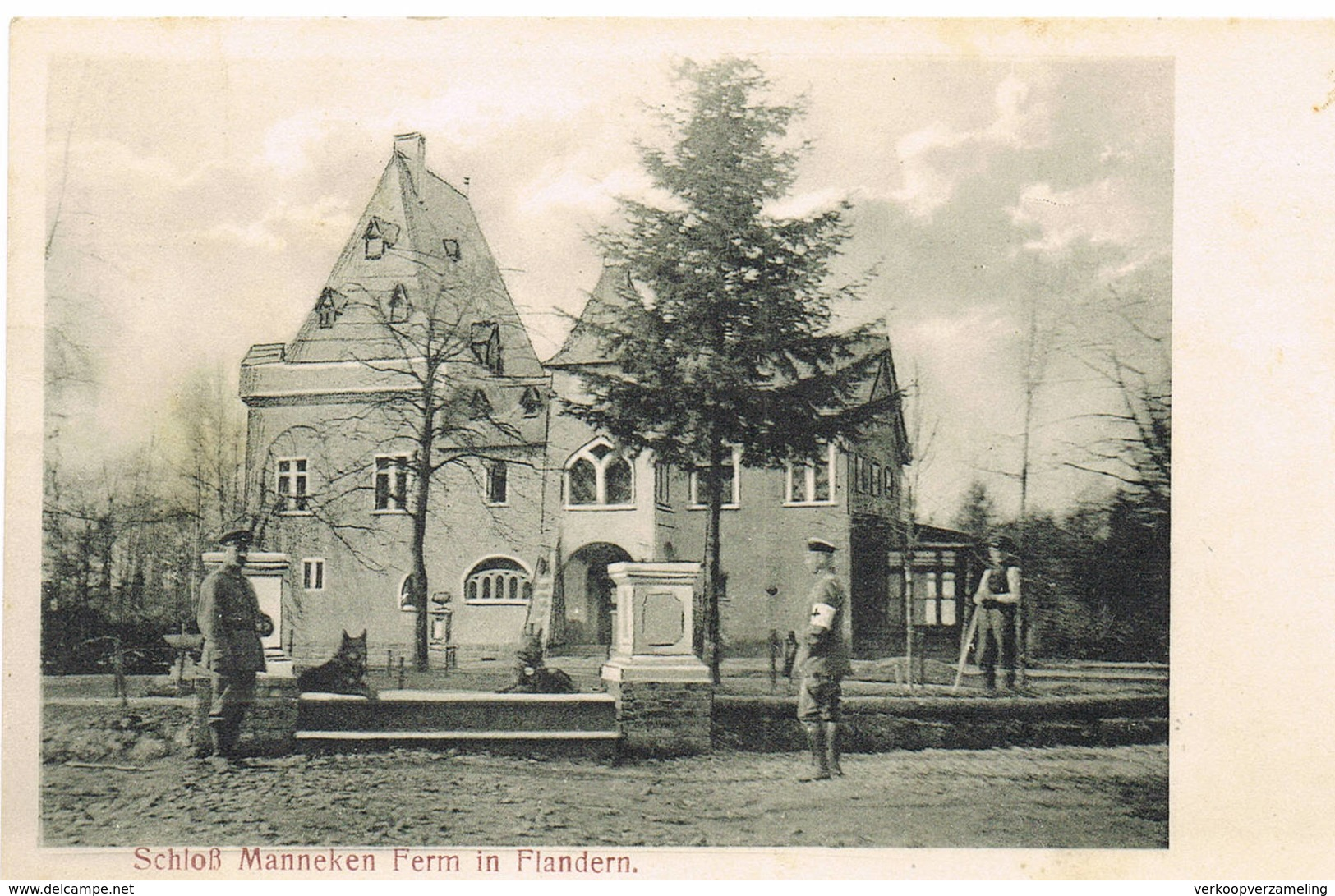 49 Sshloss Manneken Ferm In Flandern - Belgique