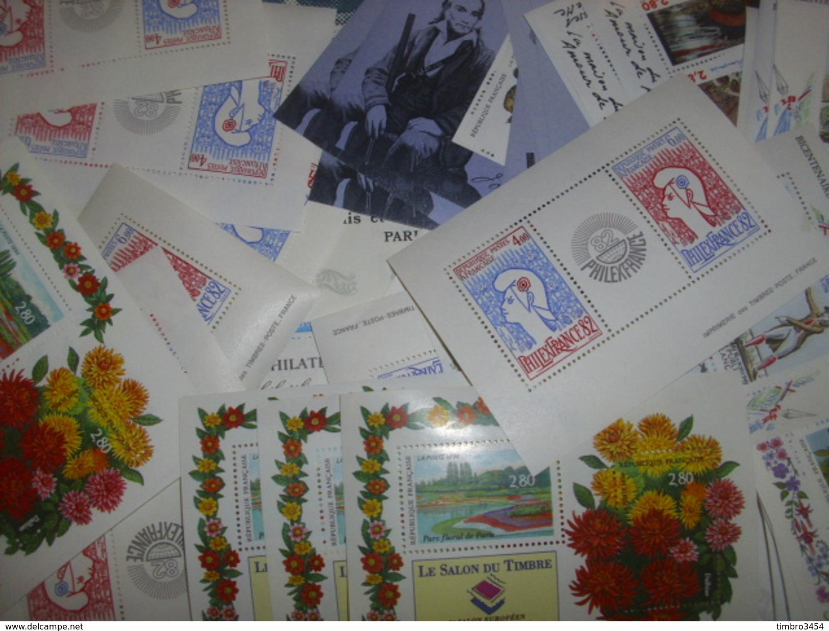 France Très Belle Collection De 136 Blocs-feuillets Neufs ** MNH 1975/1999. TB. A Saisir! - Blocks & Kleinbögen
