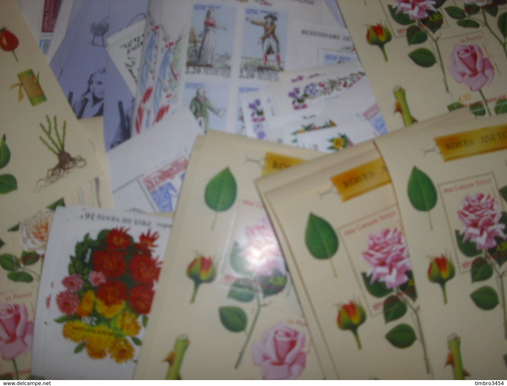 France Très Belle Collection De 136 Blocs-feuillets Neufs ** MNH 1975/1999. TB. A Saisir! - Sheetlets