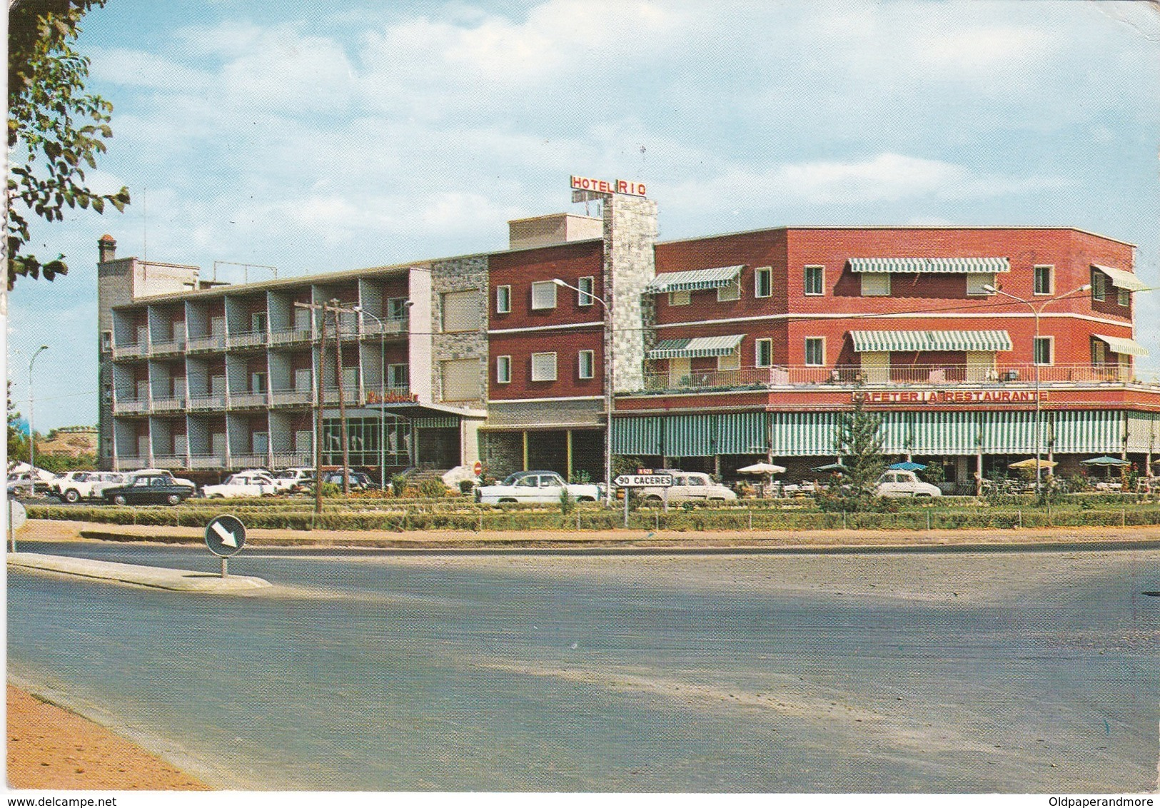 POSTCARD SPAIN - BADAJOZ - HOTEL RIO - Badajoz