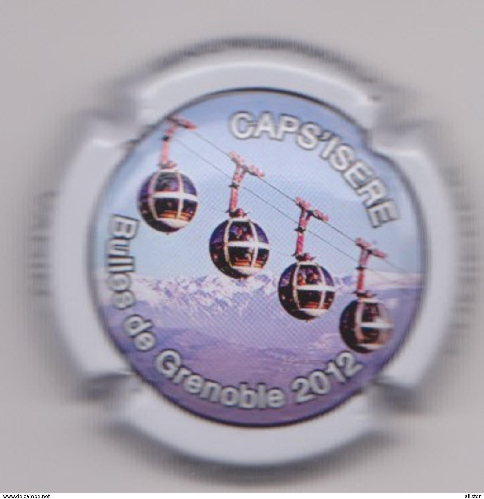 Capsule Champagne VADIN_PLATEAU ( 25 ; CAPS'ISERE , Bulles De Grenoble 2012) {S16-17} - Champagne