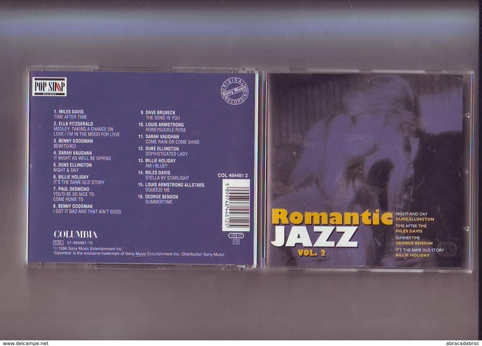 Cd Romantic Jazz Vol. 2 / 16 Titres - Jazz
