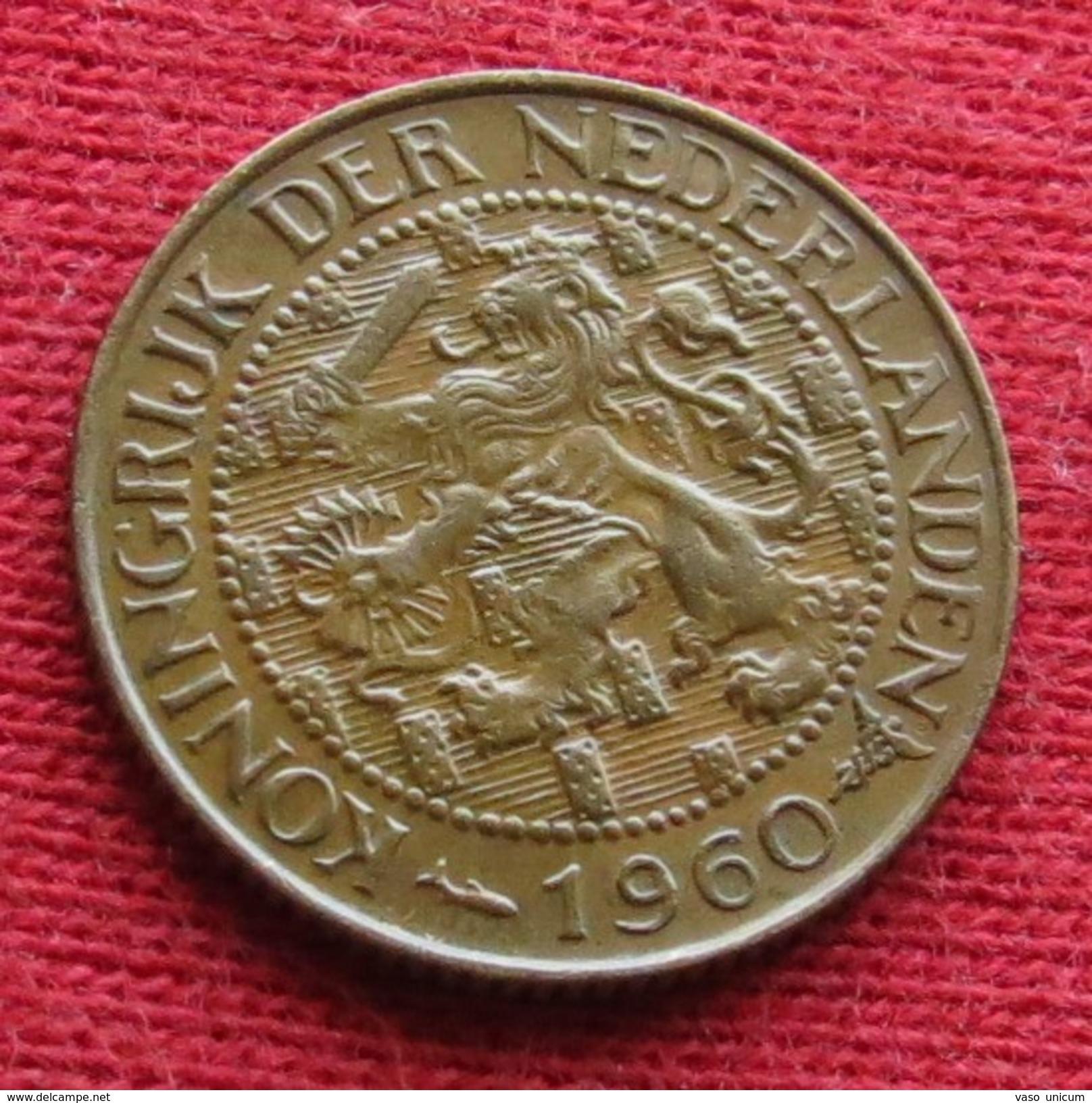 Suriname 1 Cent 1960 Km# 10a Surinam #2 - Surinam 1975 - ...