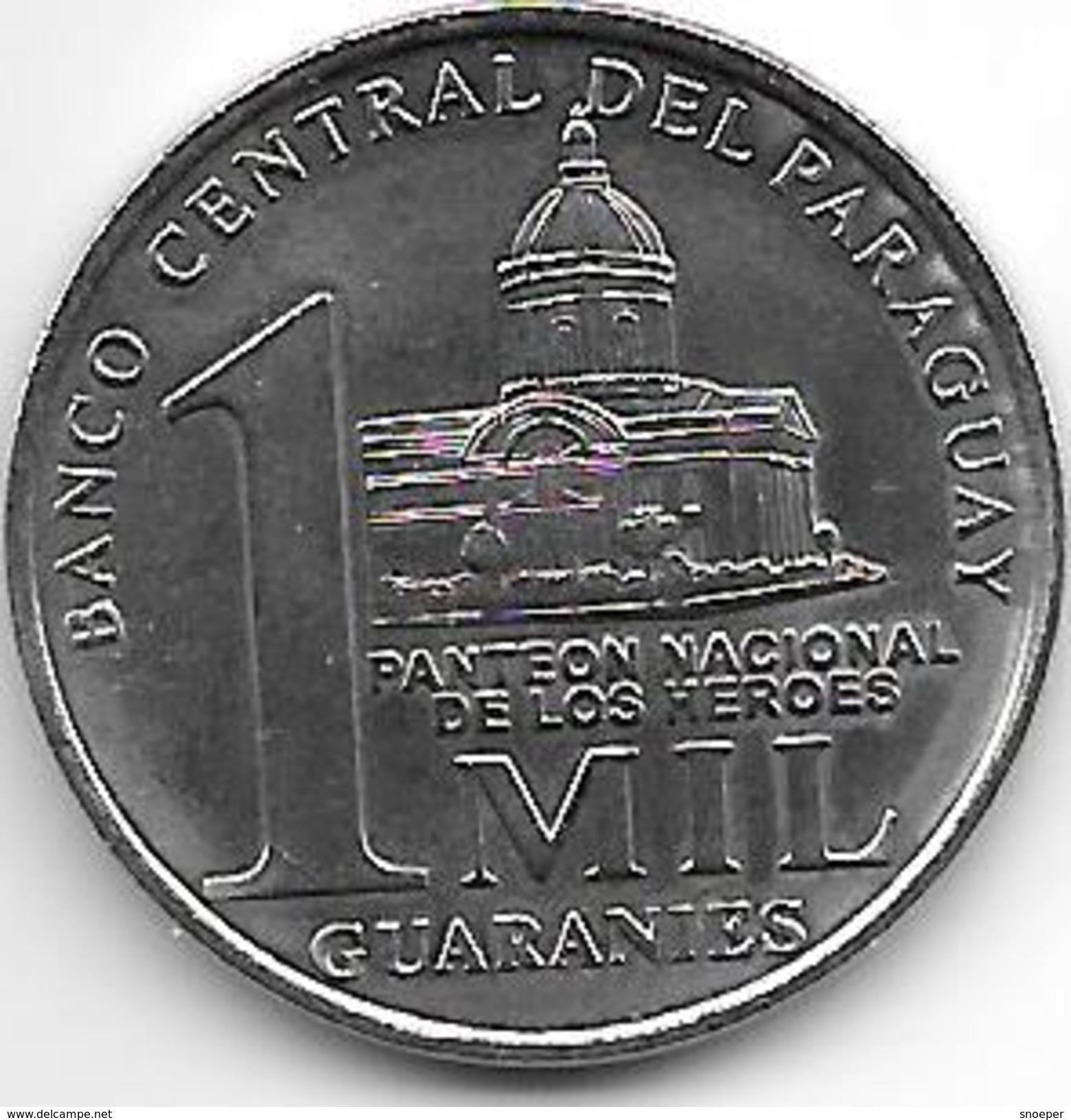 *paraguay 1000 Guarani 2006  Km 198  Unc - Paraguay