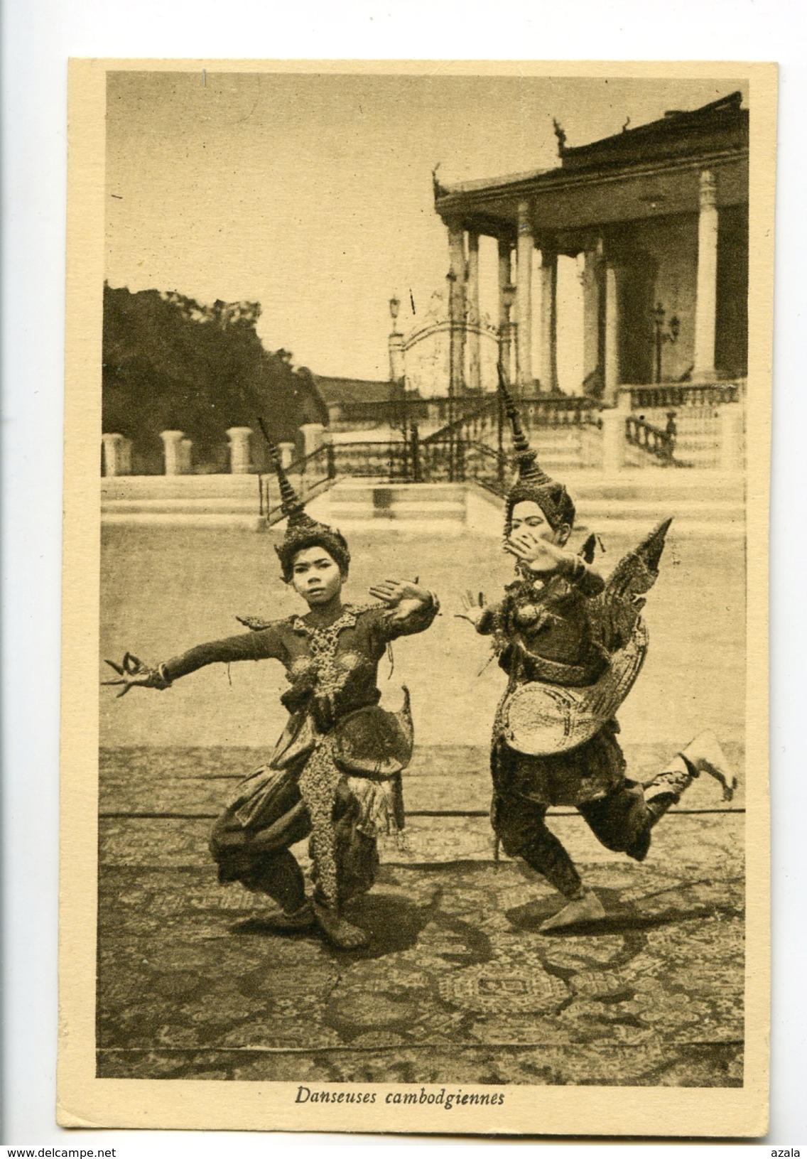 A 19749    -    Danseuses Cambodgiennes - Cambodge