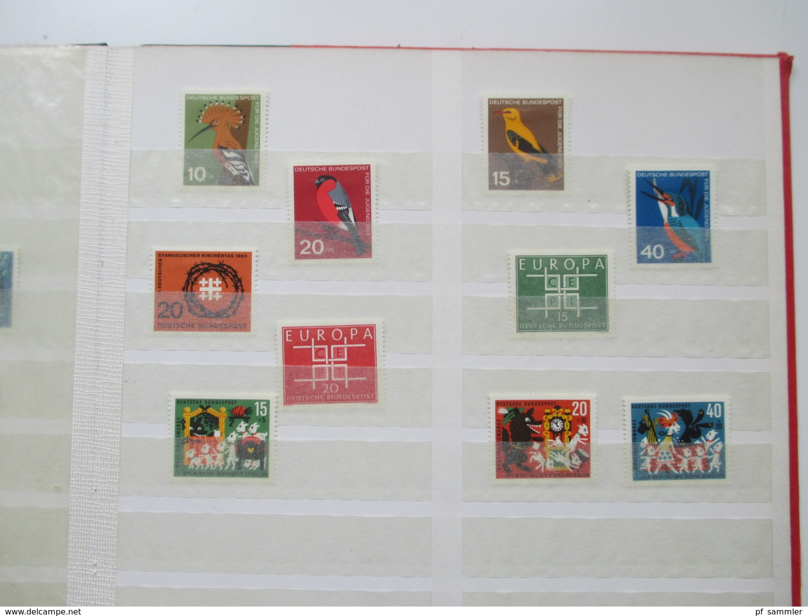 Bund Ab Posthorn Ungebraucht / Falz 1950er / 60er Jahre. Sammlung! Viele Marken Alle *. Fundgrube?! Etwas Andere Gebiete - Collections (en Albums)