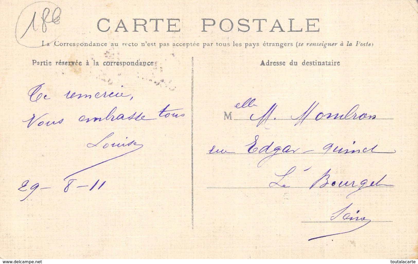 CPA 95 ANDILLY RUE DE PARIS 1911 Colorisée Toilée Beaucoup De Cartes à Vendre Du Dept 95 Dans Ma Boutique - France