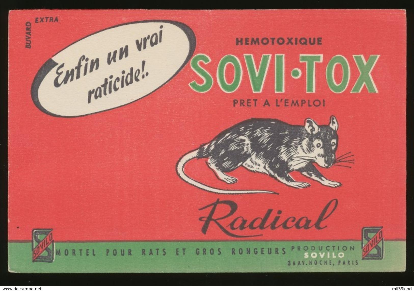 Buvard - SOVI-TOX - Hemotoxique - Buvards, Protège-cahiers Illustrés