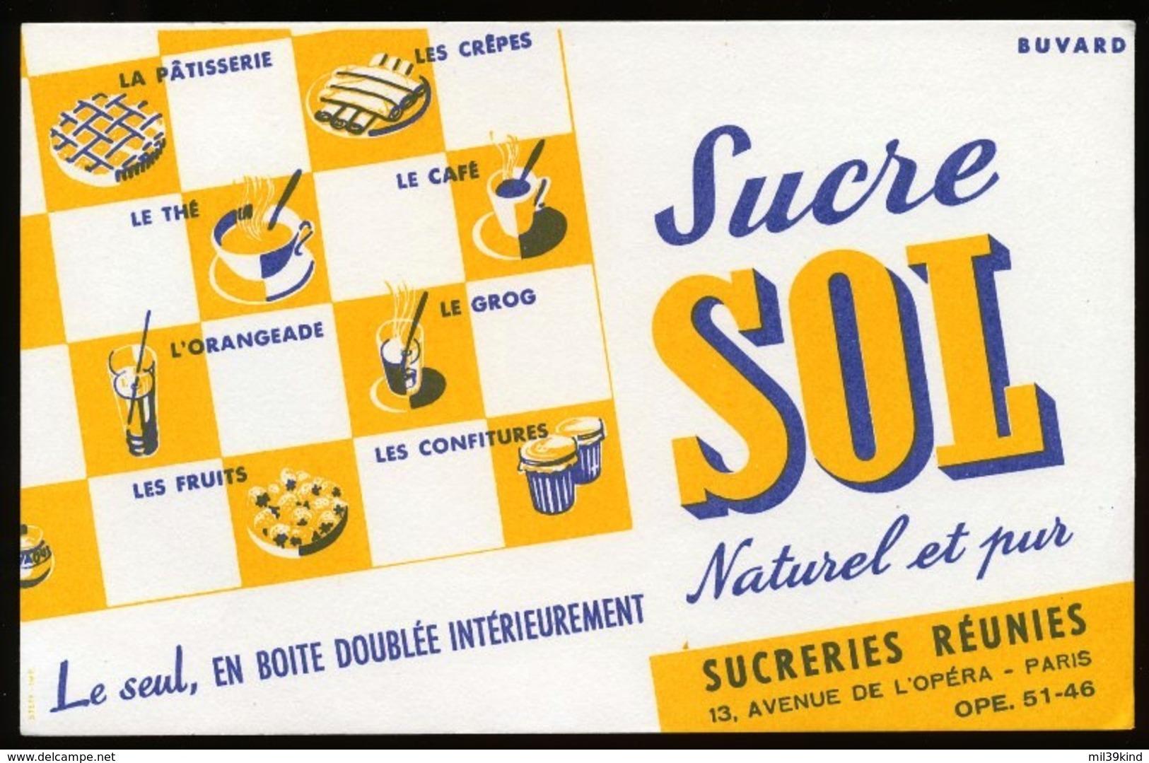 Buvard - Sucre SOL - S