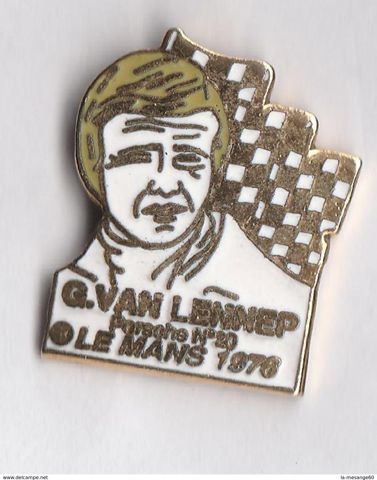 G  60 )   .....G.   VAN  LENNEP...PORSCHE N° 20....LE MANS 1976 ..voiture . - Automobile - F1