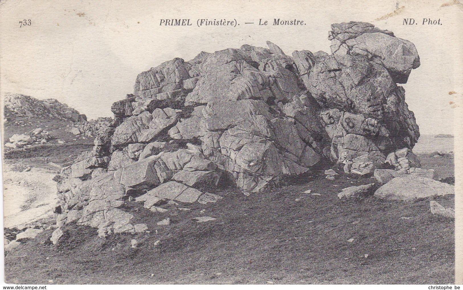 CPA Primel, Finistère, Le Monstre (pk34267) - Primel