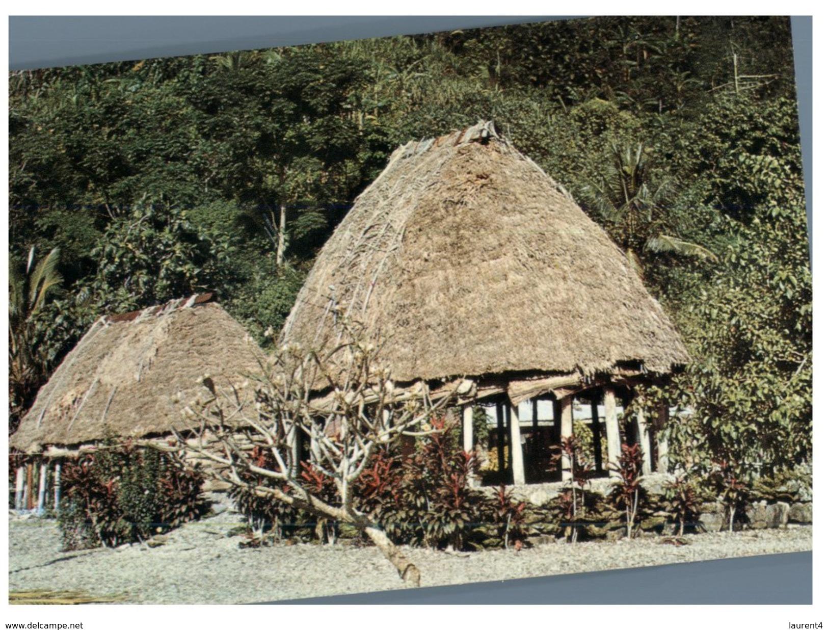 (716) American Samoa Fale (house) - Samoa Americana