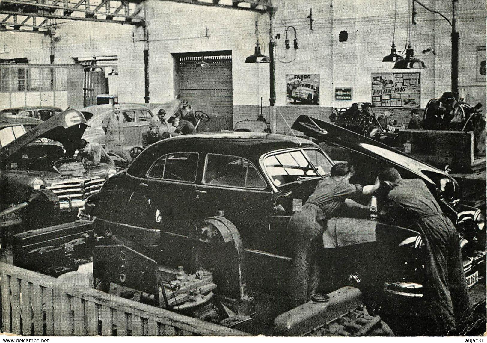 Belgique - Voitures - Automobile - Hainaut - La Louviere - Institut Des Arts Et Métiers -Semi Moderne Grand Format -état - La Louvière