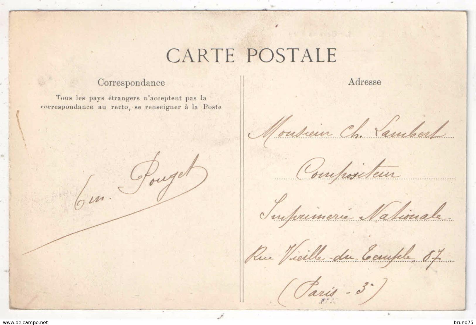 95 - BAILLET - La Grande Rue - 1907 - Autres Communes