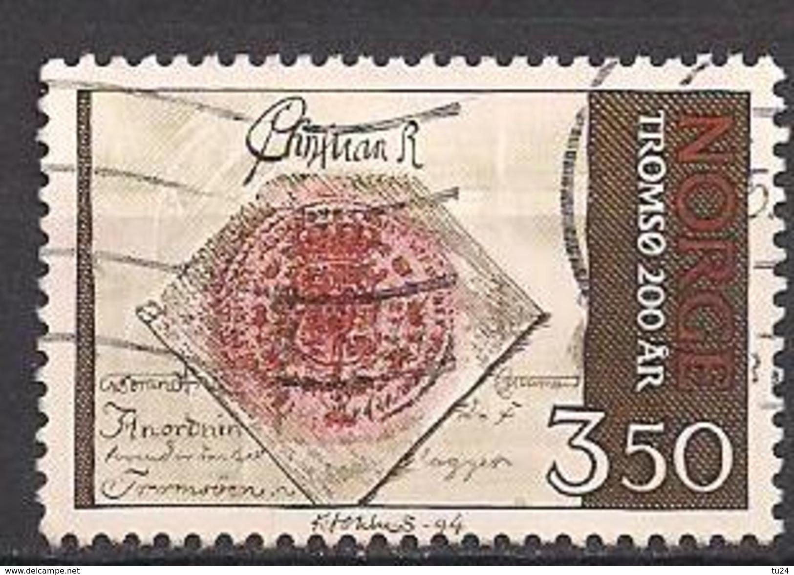 Norwegen  (1994)  Mi.Nr.  1154  Gest. / Used  (3ff13) - Norwegen