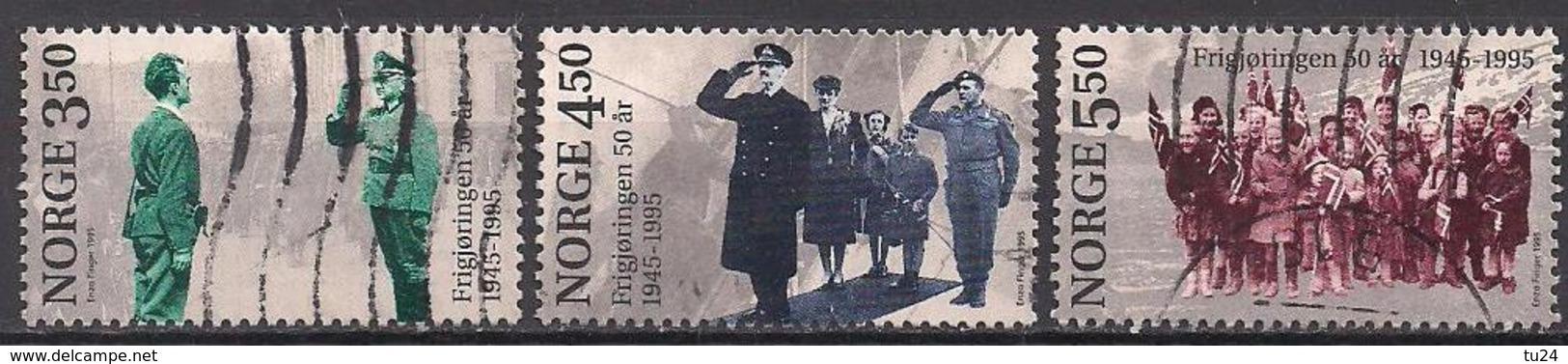 Norwegen  (1995)  Mi.Nr.  1178 - 1180  Gest. / Used  (3ff14) - Gebraucht