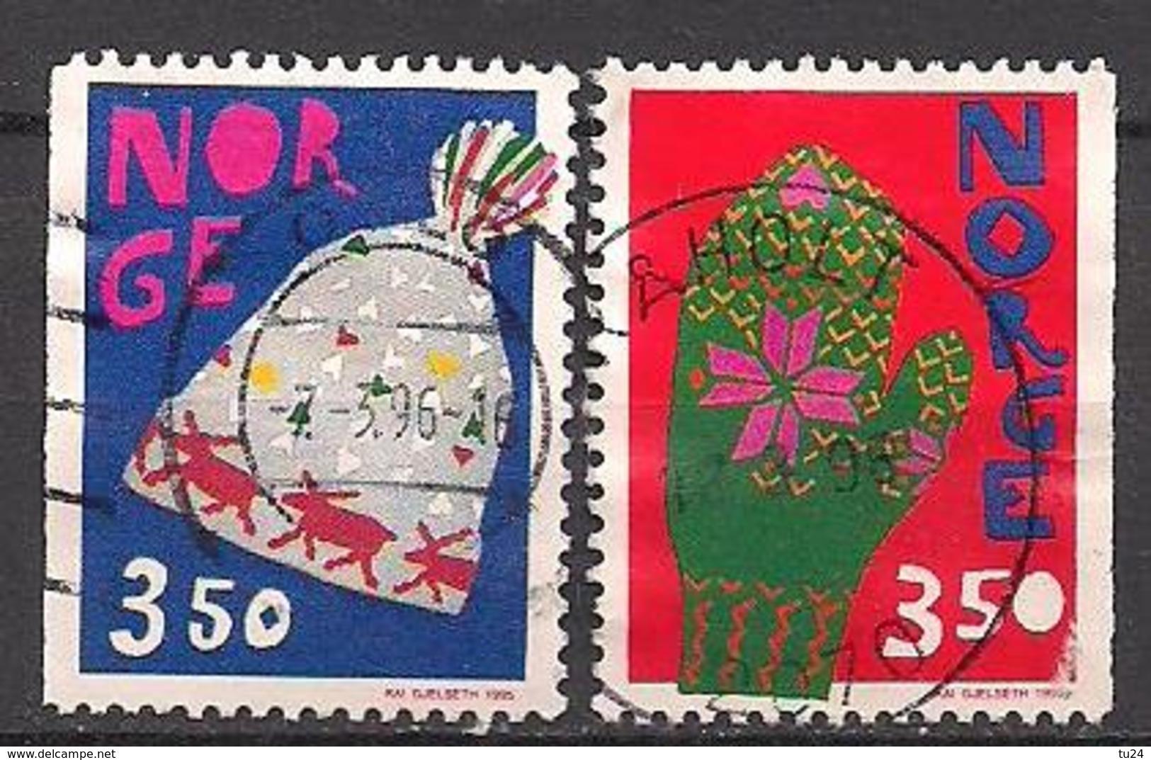 Norwegen  (1995)  Mi.Nr.  1200 + 1201  Gest. / Used  (4ff04) - Gebraucht