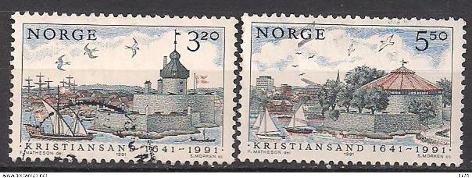 Norwegen  (1991)  Mi.Nr.  1064 + 1065  Gest. / Used  (4ff08) - Norwegen