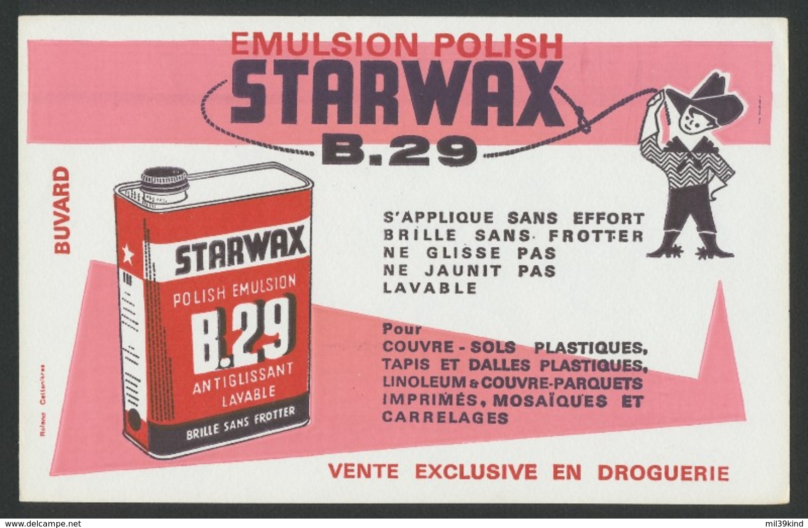 Buvard - STARWAX B.29 - Buvards, Protège-cahiers Illustrés