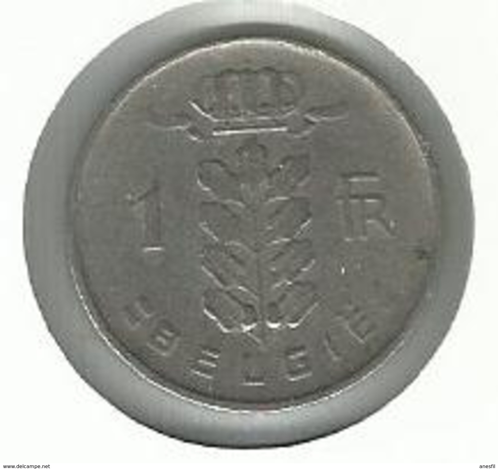 Bélgica_1951__ 1 Franco - 1945-1951: Regencia