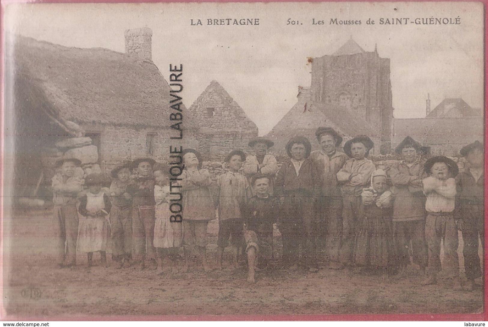 29 - SAINT GUENOLE---Les Mousses---Trés Beau Plan --rare - France
