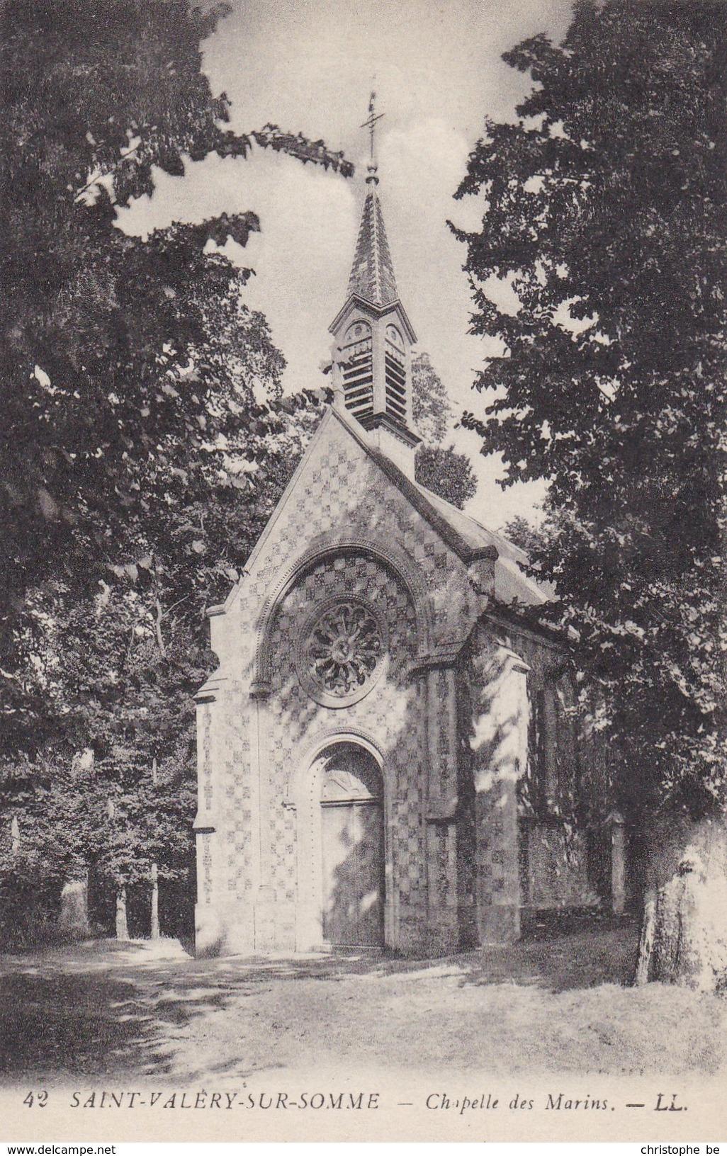 CPA Saint Valéry Sur Somme, Chapelle Des Marins (pk34366) - Saint Valery Sur Somme