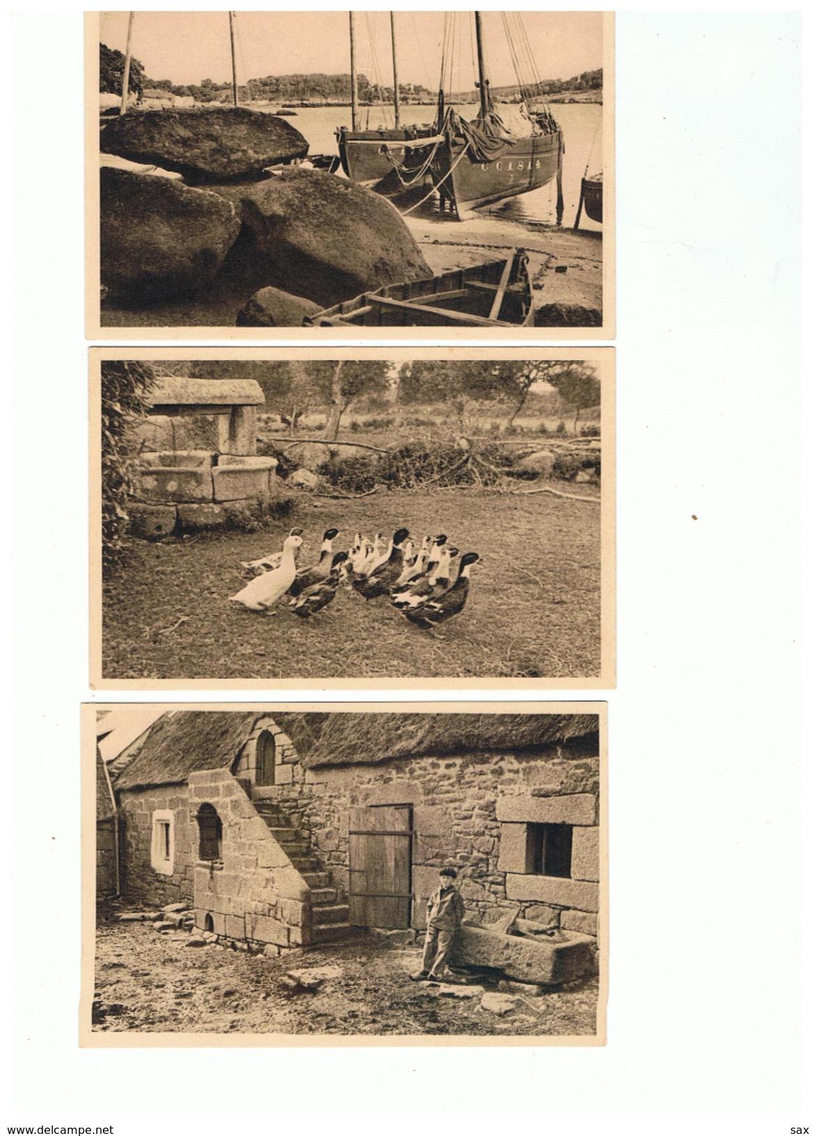 1716 Dep 29 Collec Tante Jeanne Le Poulgoin  Port Manech  Kérambris   La Vente Sera Retirée Le 29-04 - Névez