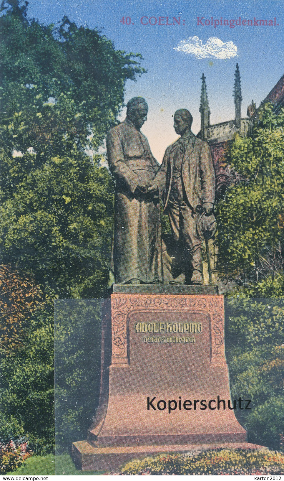 AK Köln, Kolping-Denkmal - Köln