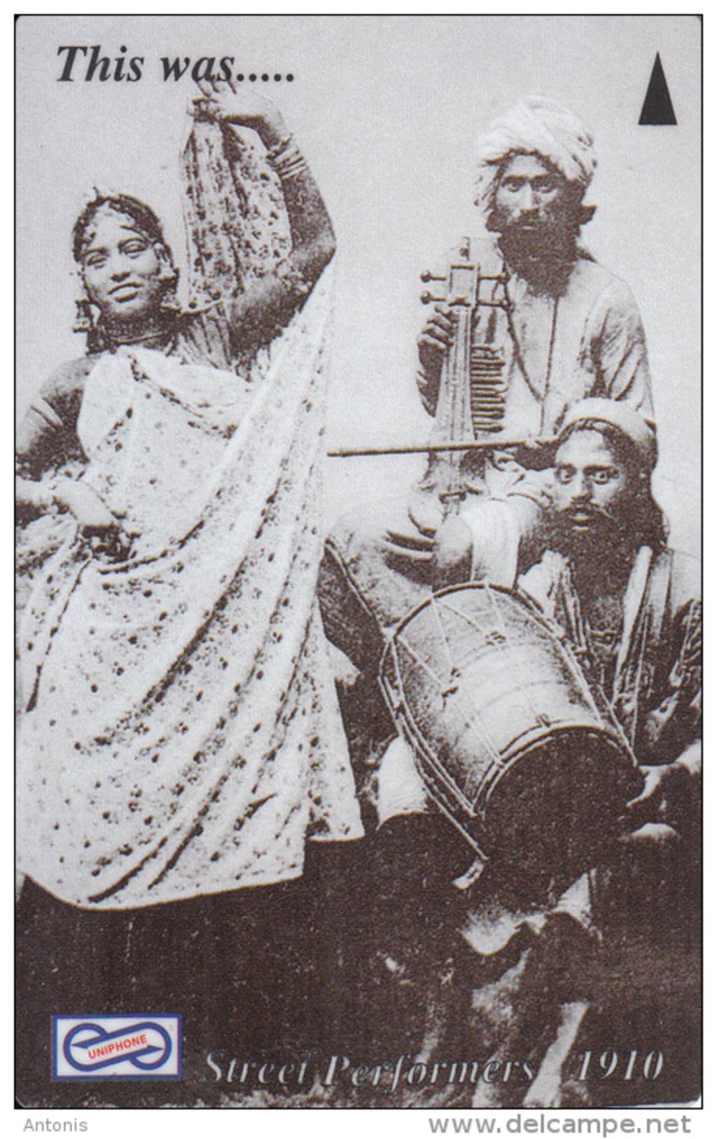 MALAYSIA(GPT) -  Street Performers 1910, CN : 35USBD, Used - Malaysia