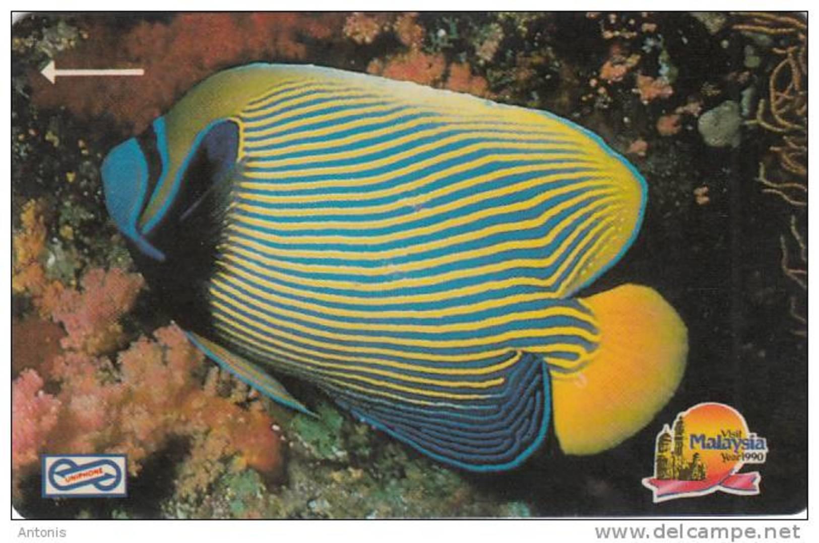 MALAYSIA(GPT) - Stripe Fish, CN : 6MSAA, Used - Malaysia