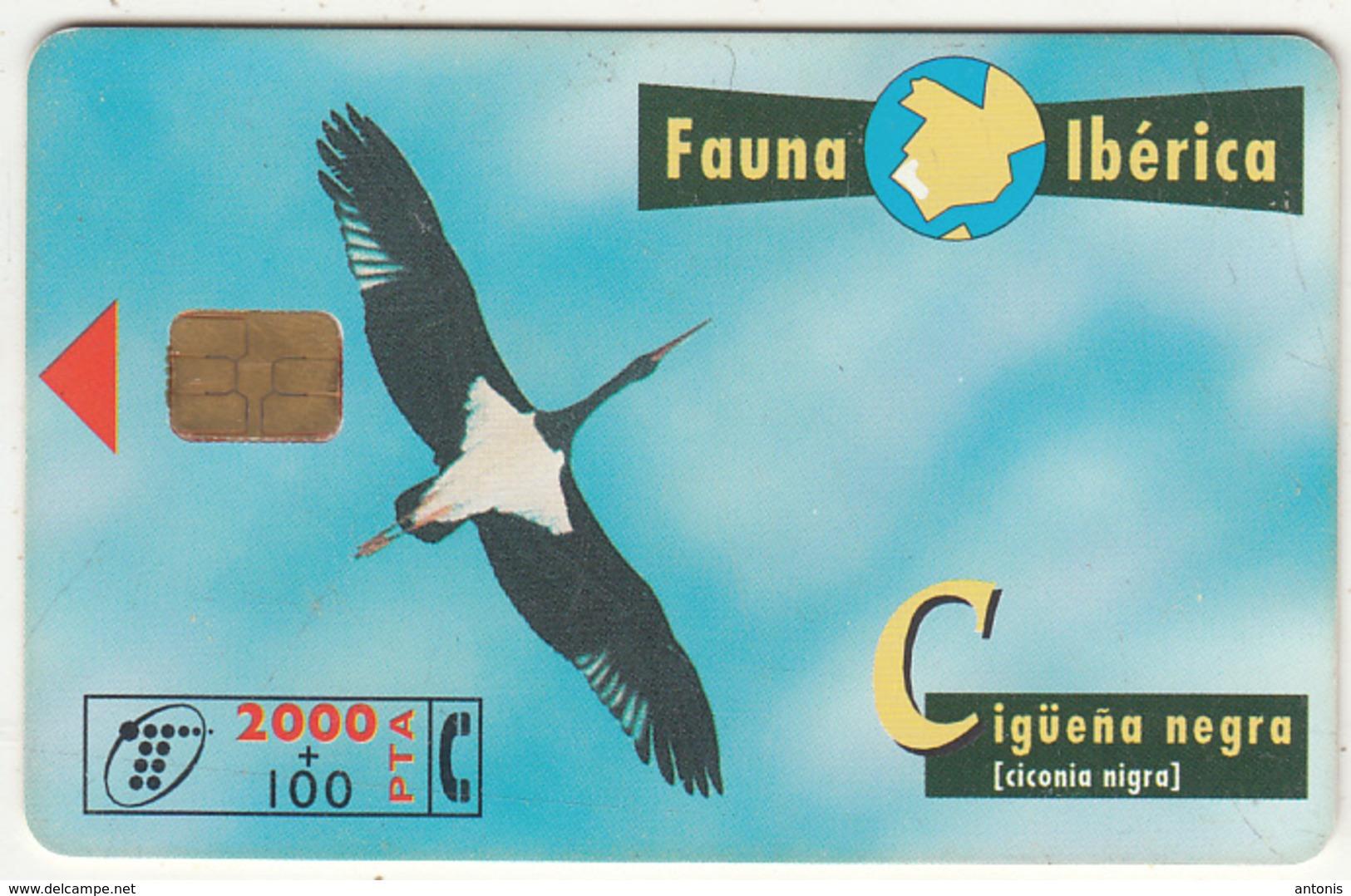 SPAIN - Bird, 08/98, Used - Spain