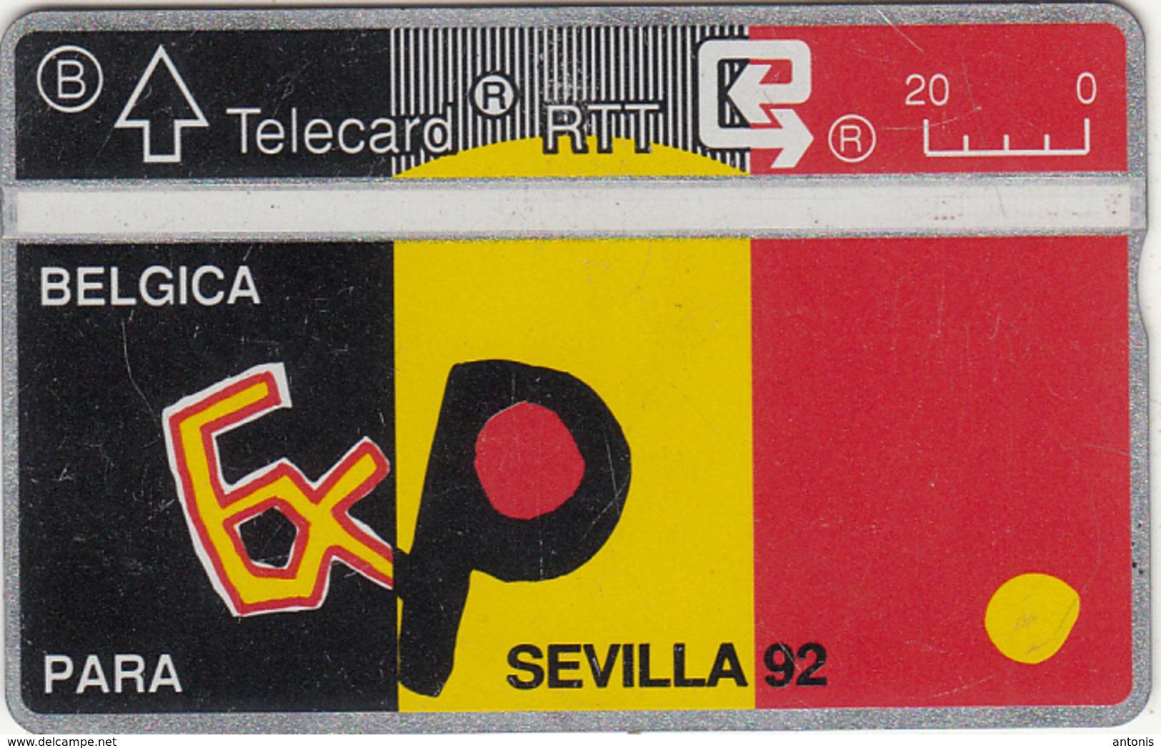 BELGIUM - Expo Sevilla 92, CN : 221A, Used - Belgium