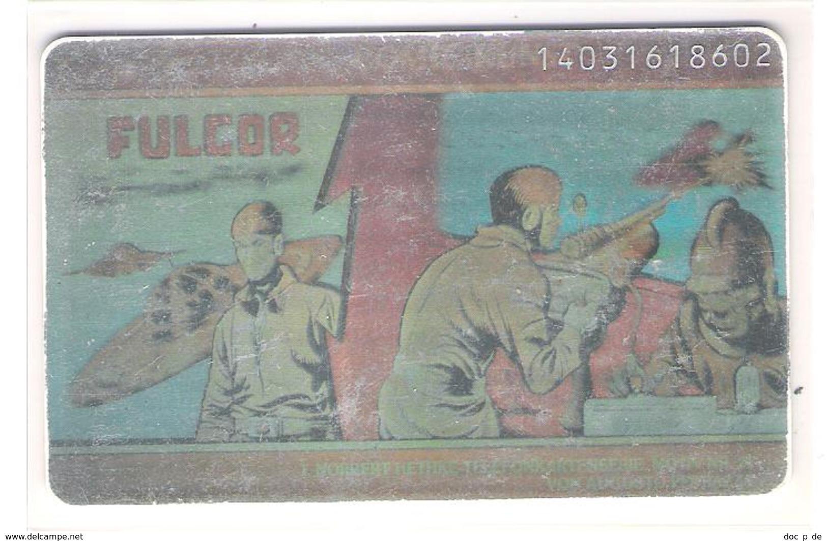 Germany - S 11/94 - Fulgor Hethke Comic Card - Hologram - Hologramm - Weltraumflieger - Germany
