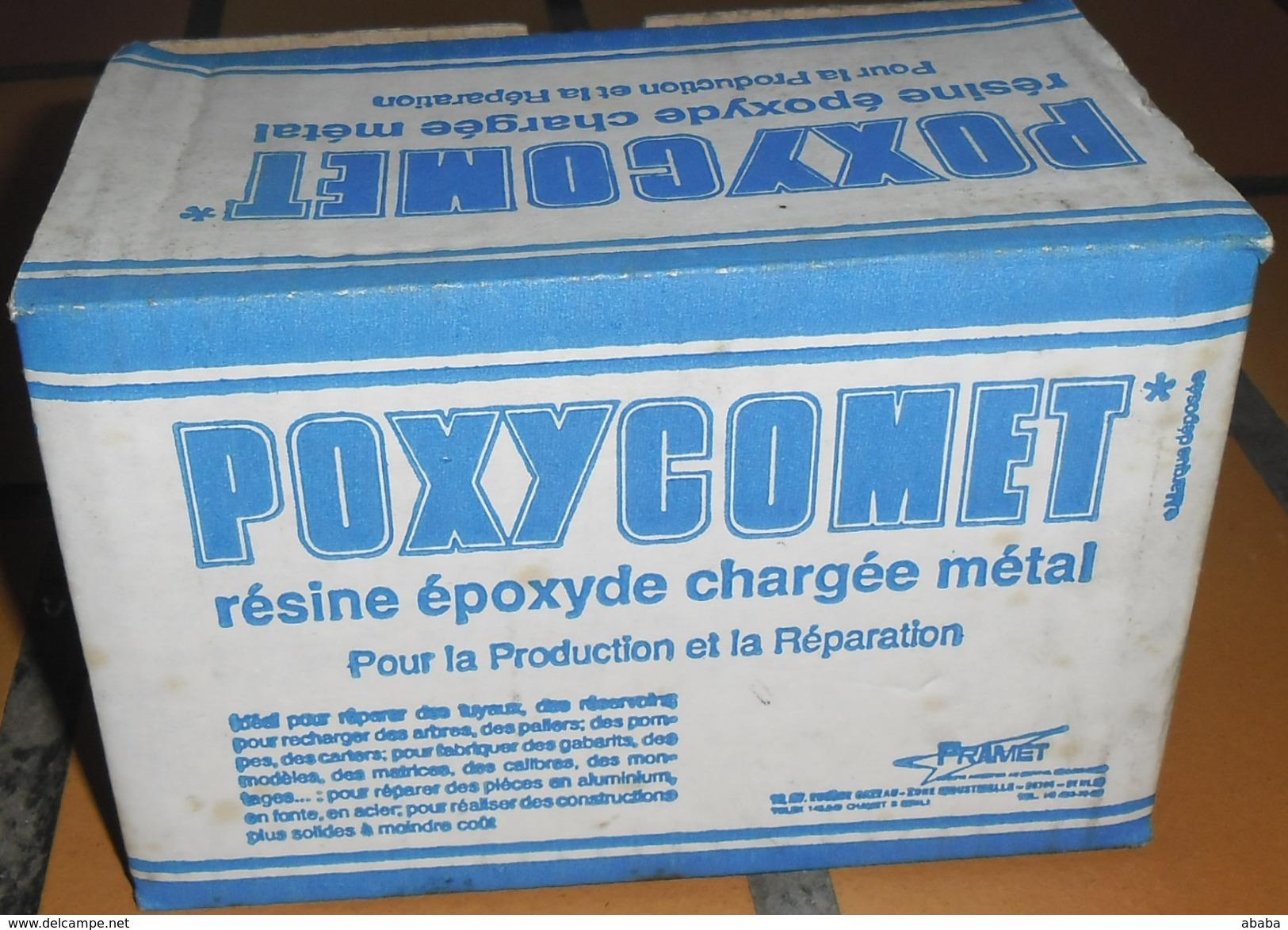 PRODUIT ADHESIF POIXYCOMET RESINE EPOXYDE CAHRGEE DE METAL - Wissenschaft & Technik