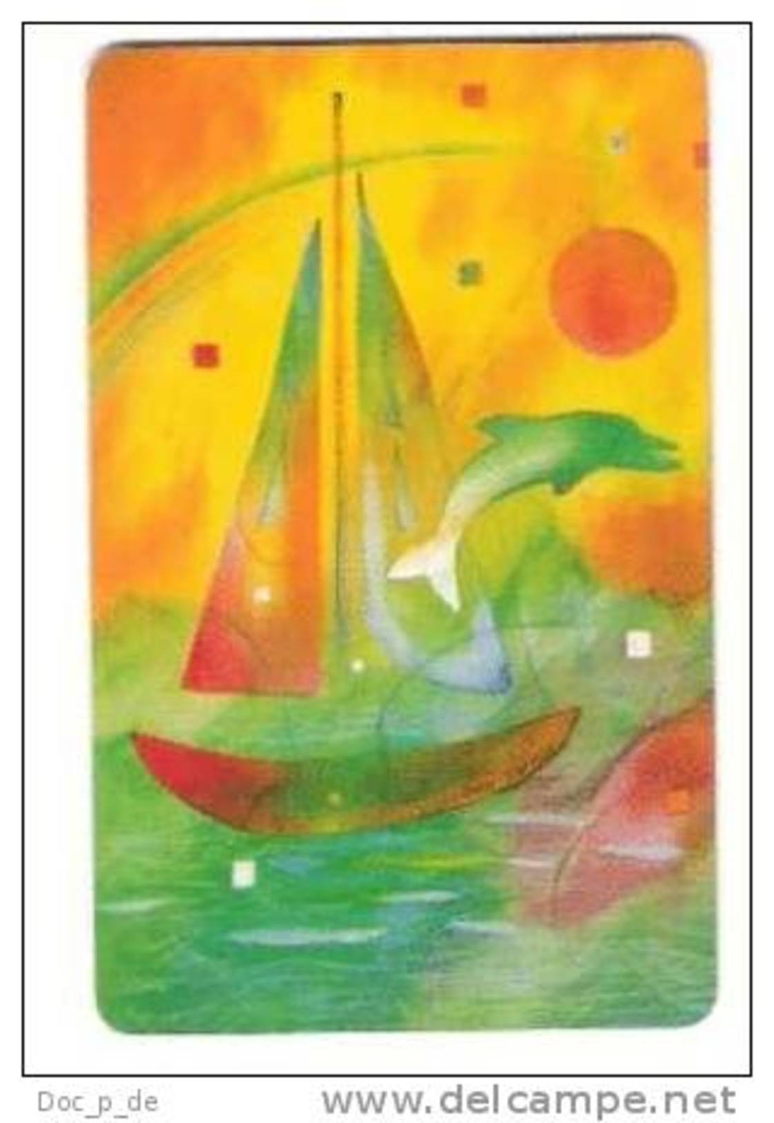 Deutschland - P 09/97 - Sommer - Summer - Painting - Ship - Joan Sofron - Germany