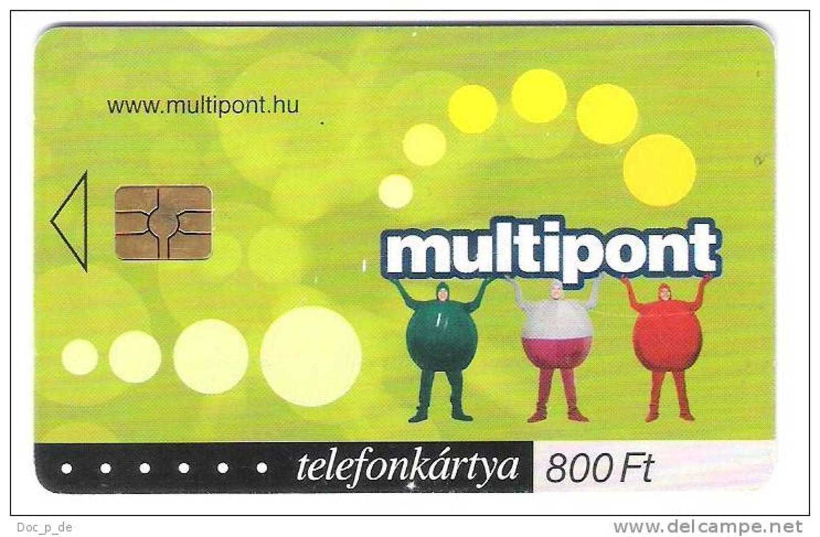 Ungarn - Hungary - Multipont 800 Ft - 11/2002 - 30.000 Ex. - Hungary