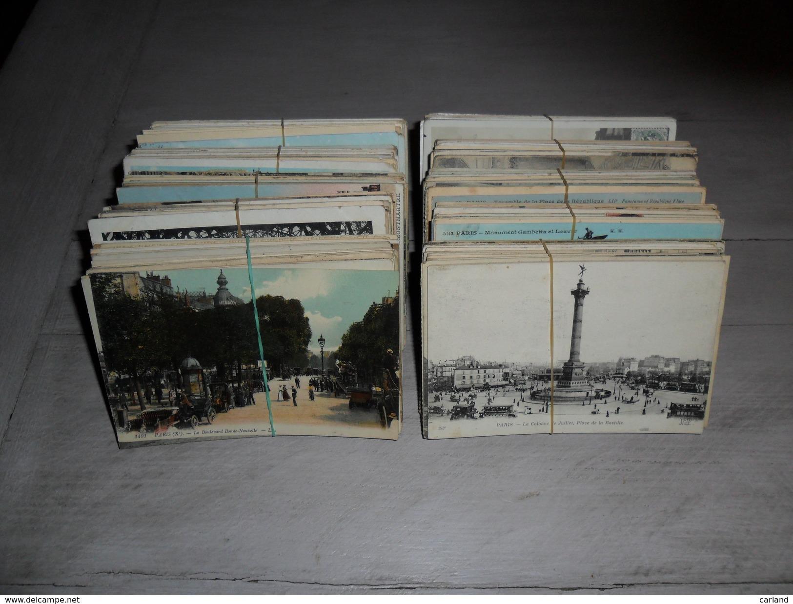 Grand Lot De 500 Cartes Postales France  Paris ( Genre Drouille ) Groot Lot Van 500 Postkaarten Frankrijk Parijs (brol ) - Cartes Postales