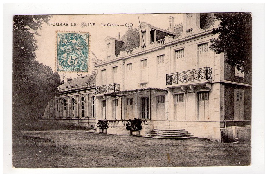 CPA-WZ1124-FOURAS LES BAINS LE CASINO 1907 - Fouras-les-Bains