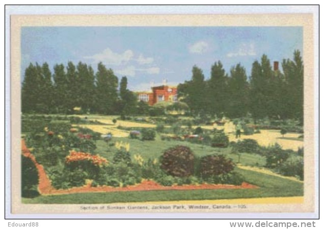 WINDSOR Section Of Sunken Gardens Jackson Park - Windsor