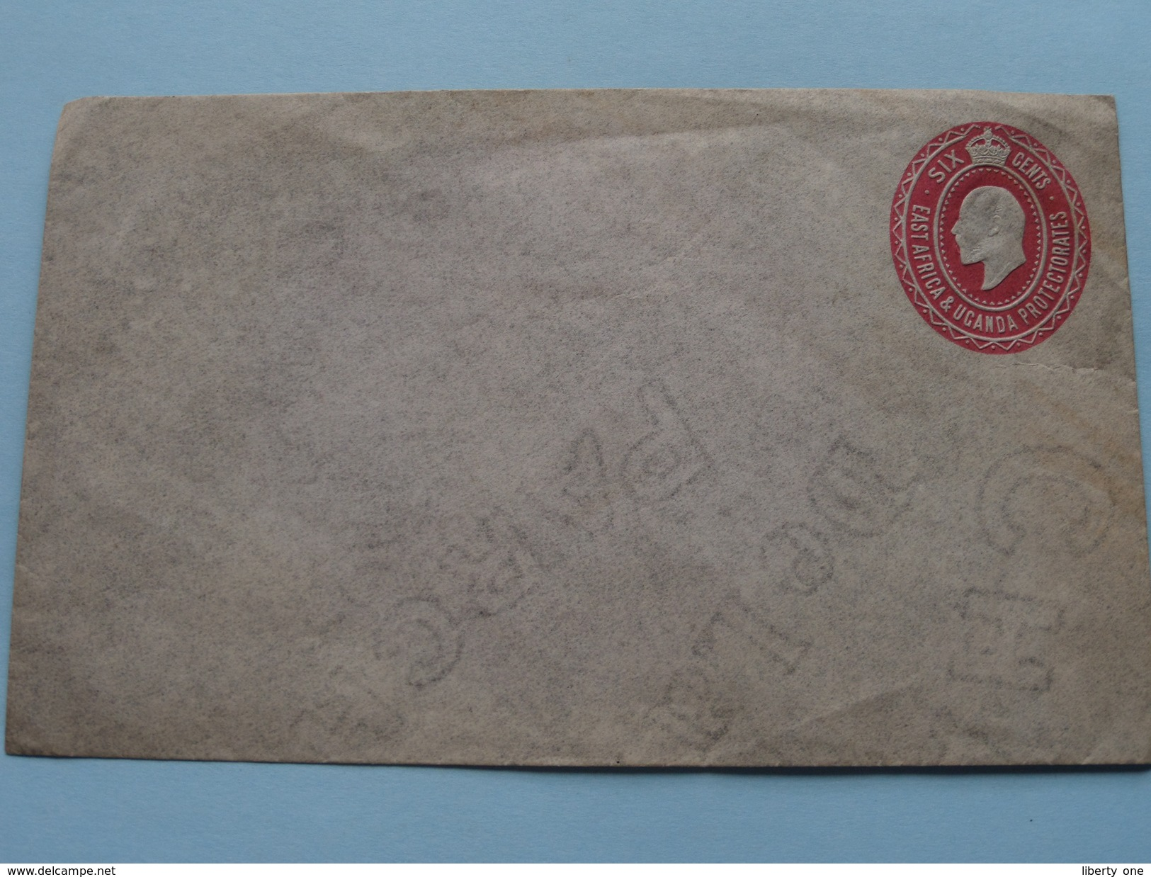 EAST AFRICA & UGANDA - Blanco Envelop / SIX Cents ( Blanco ) Anno 19?? ( Zie Foto's ) ! - Ouganda