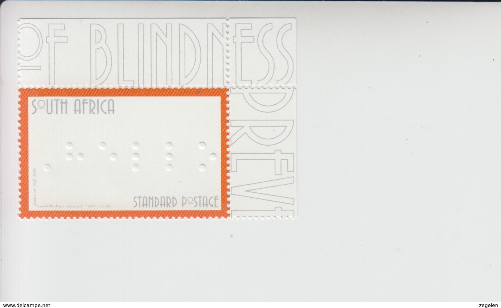 Zuid-Afrika Mi 1683 ** Zegelbeeld In Braille - South Africa (1961-...)