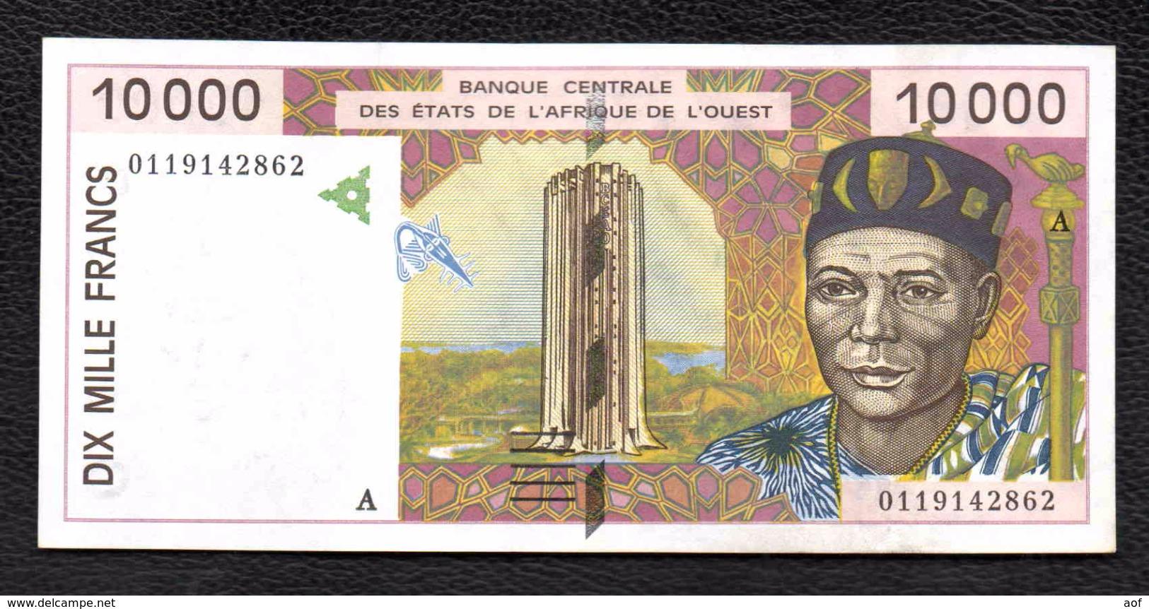 10000F CFA COTE D'IVOIRE - Côte D'Ivoire