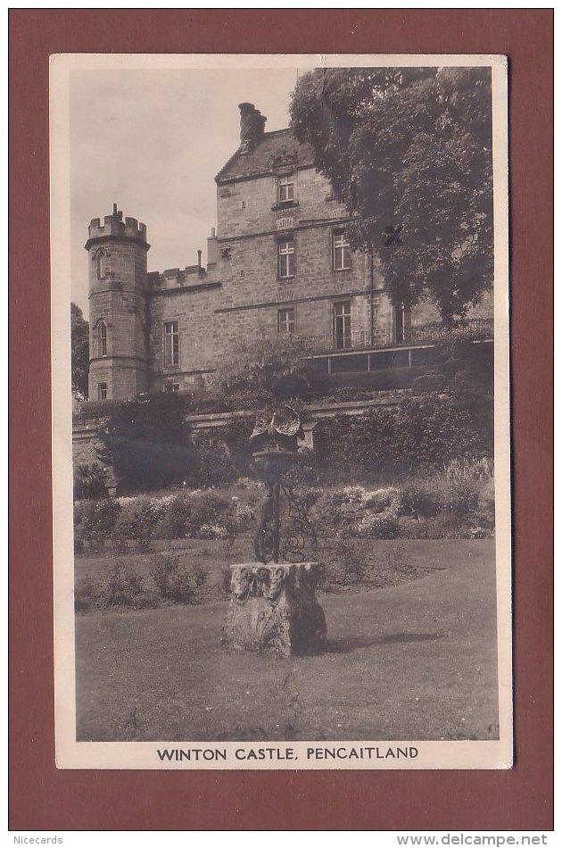 Scotland - WINTON CASTLE - Pencaitland - East Lothian