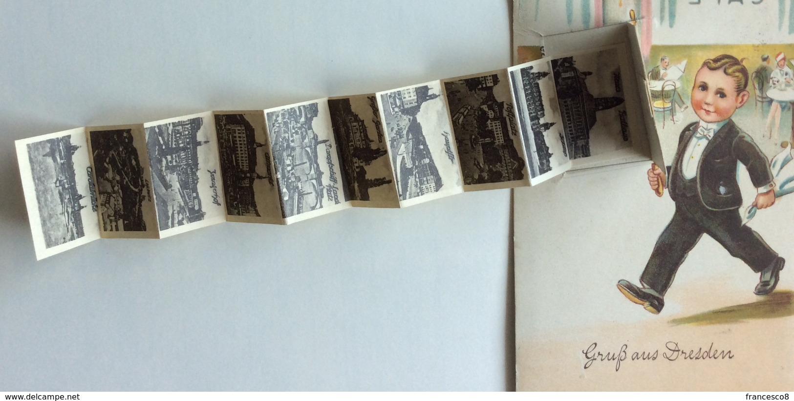 1930 GRUSS AUS DRESDEN / Leporello / Valigetta / Igiene / Hygiene - Dresden