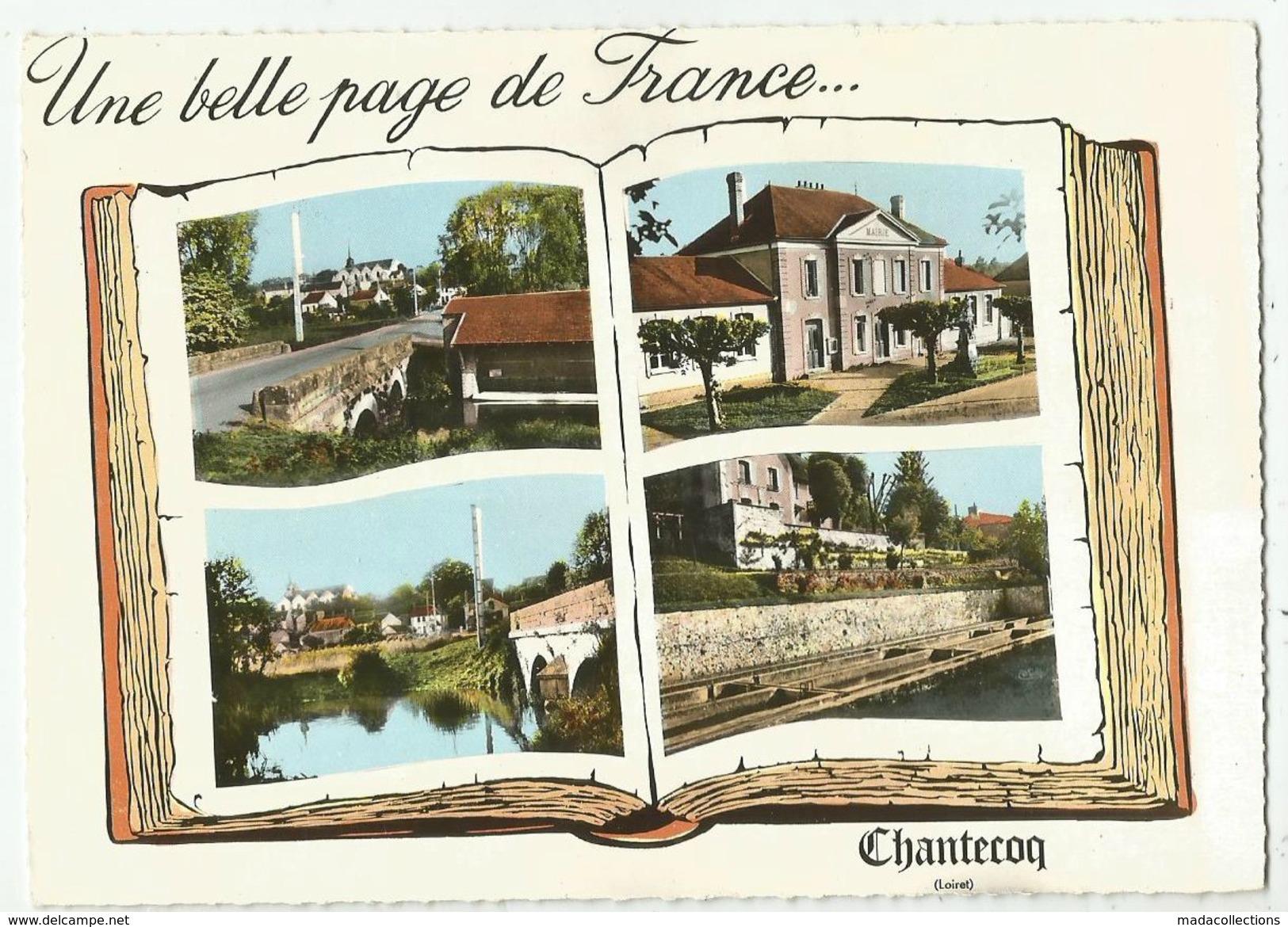 Chantecoq  ( 45 - Loiret )  Multi Vues - France