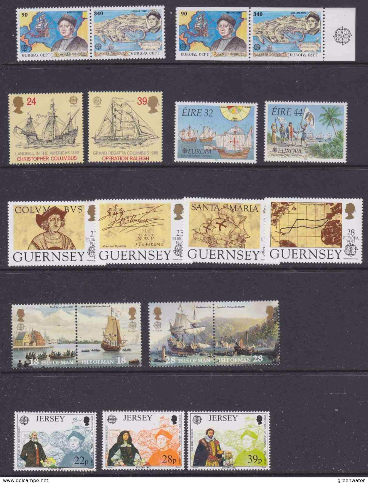 Europa Cept 1992 Yearset 42 Countries (see Scan, What You See Is What You Get) ** Mnh (35427) - Europa-CEPT
